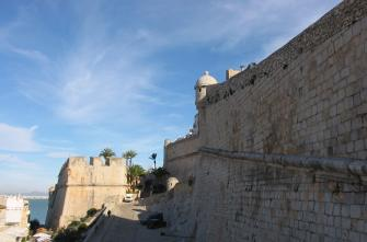 The walls of Peñíscola