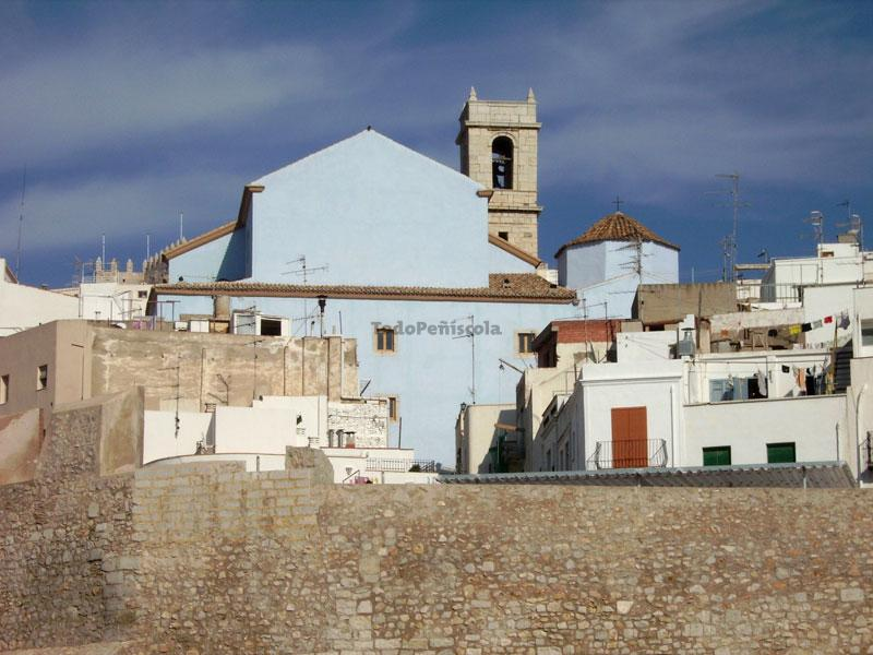 Santa María church of Peñíscola