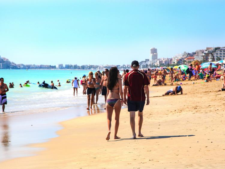 Playa norte Peñiscola